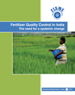Fertilizer Quality Control in India The need for a systemic change